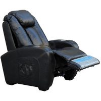 Home Theater Leather Power Recliner with Shiatsu Massage