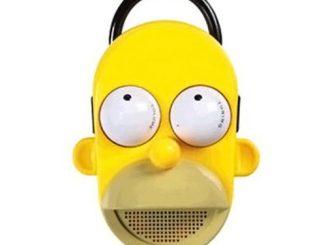 Homer Simpson Talking Shower Radio
