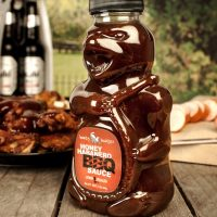 Honey Badger Habanero BBQ Sauce