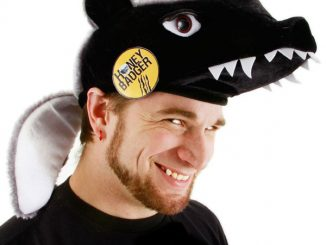 Honey Badger Plush Hat and Pin