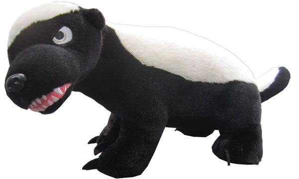 Honey Badger Small Talking Plush