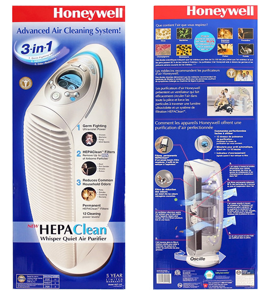 Honeywell HHT-145 Air Purifer