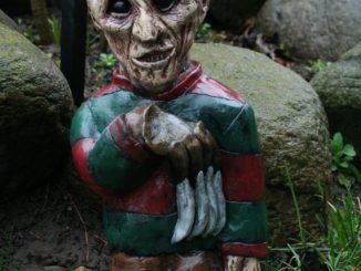 Horror Garden Gnomes - Nightmare on Elm Street
