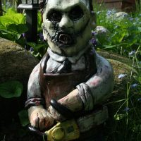 Horror Garden Gnomes - Texas Chainsaw Massacre