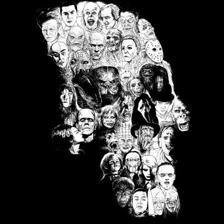 Horror Skull Shirt