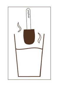 Hot Chocolate with a Stick