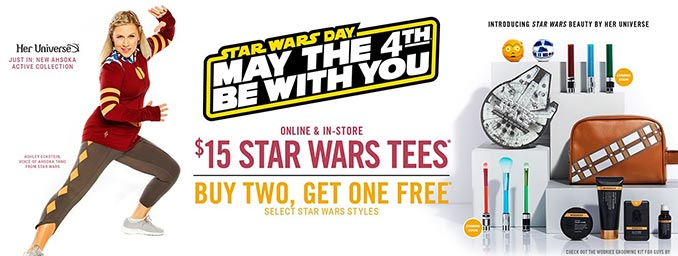 Hot Topic Star Wars Day