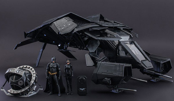 Hot Toys Batman Dark Knight Rises Deluxe Collectible