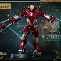Hot Toys Iron Man 3 Red Snapper Collectible Figure
