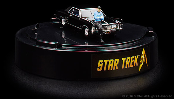 Hot Wheels Star Trek 64 Buick Riviera and Spock 1_64 Figure 5