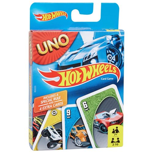 Hot Wheels UNO Card Game