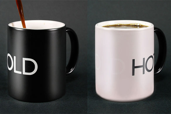 HotCold Heat Sensitive Mug