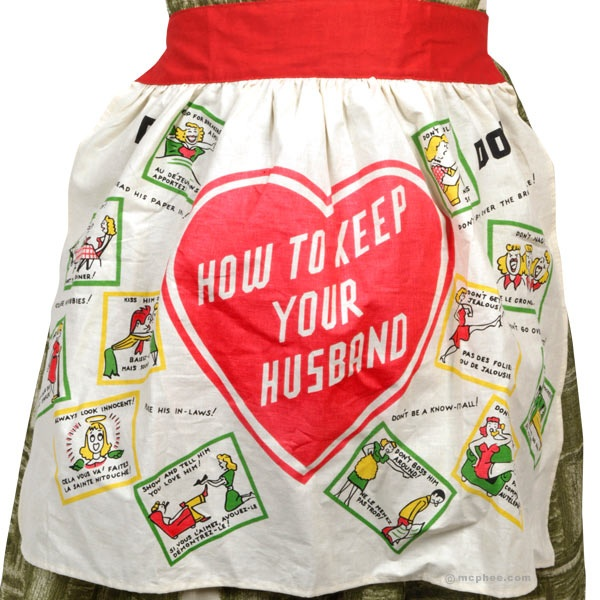 How to Keep Your Husband Apron