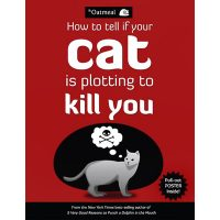 How to Tell If Your Cat Is Plotting to Kill You Novelty Book