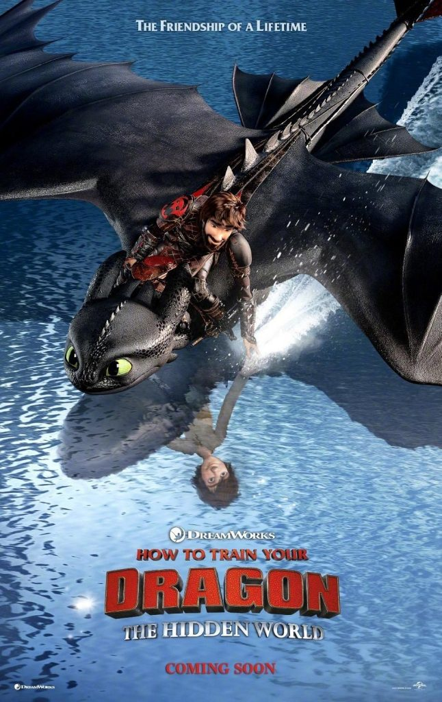 How to Train Your Dragon Hidden World Poster