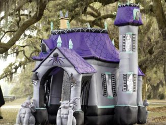 Huge Inflatable Halloween Castle