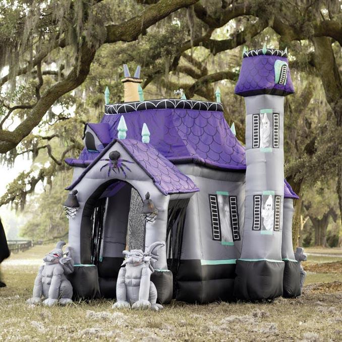 Huge Inflatable Halloween Castle