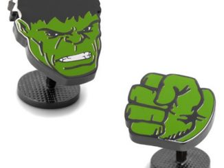 Hulk Comics Face and Fist Pair Cufflinks