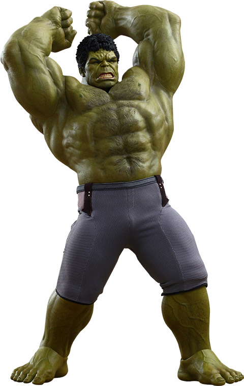 Hulk Deluxe Sixth-Scale Figure Collectible Set