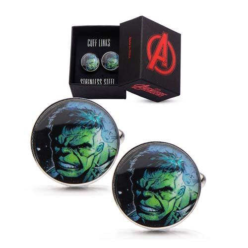 Hulk Face Cufflinks