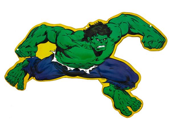 Hulk Marvel Embossed Tin Sign