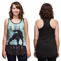 Hulk Smash Art Deco Ladies Tank Top