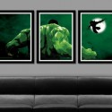 Hulk VS Wolverine Minimalist Movie Poster Set