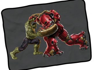 Hulkbuster Fleece Blanket