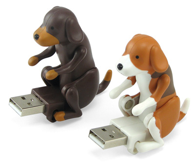 Humping USB Dog