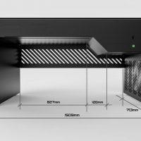 Hydra PC Case Desk