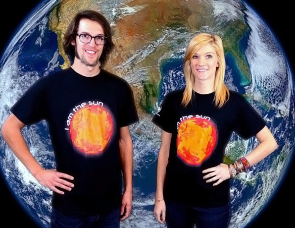 I Am The Sun Others Revolve Around Me TShirt