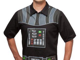 I Am Vader Short Sleeve Button-Up
