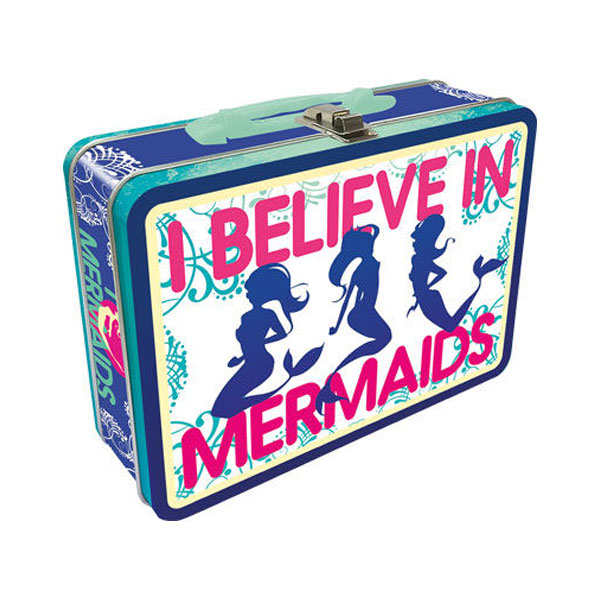 I Believe in Mermaids Lunch Box
