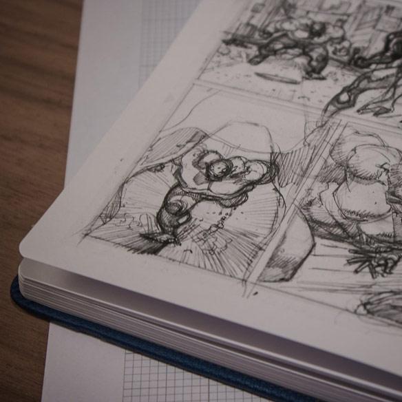 I Draw Comics Book
