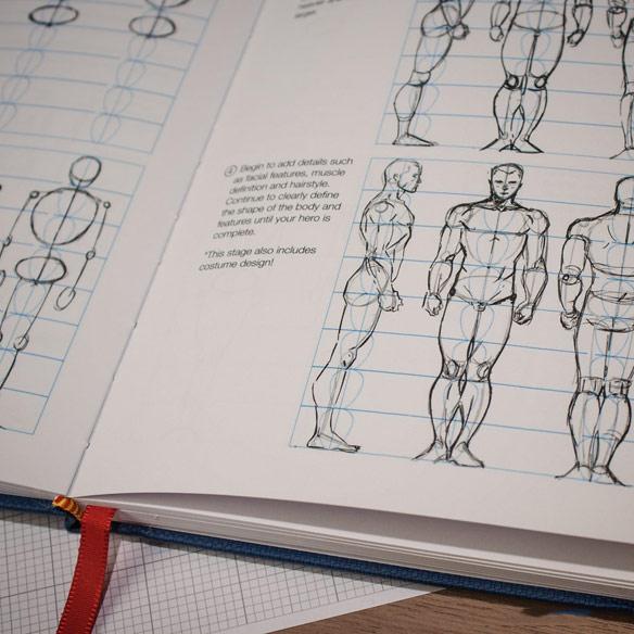 I Draw Comics Notebook