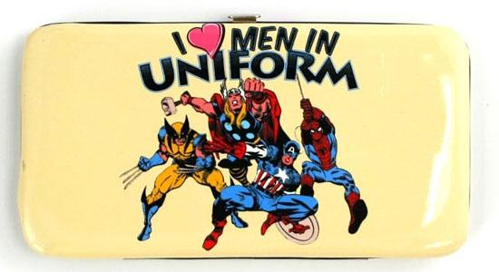 I Love Men in Uniform - Hinge Wallet