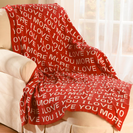 I Love You More Throw