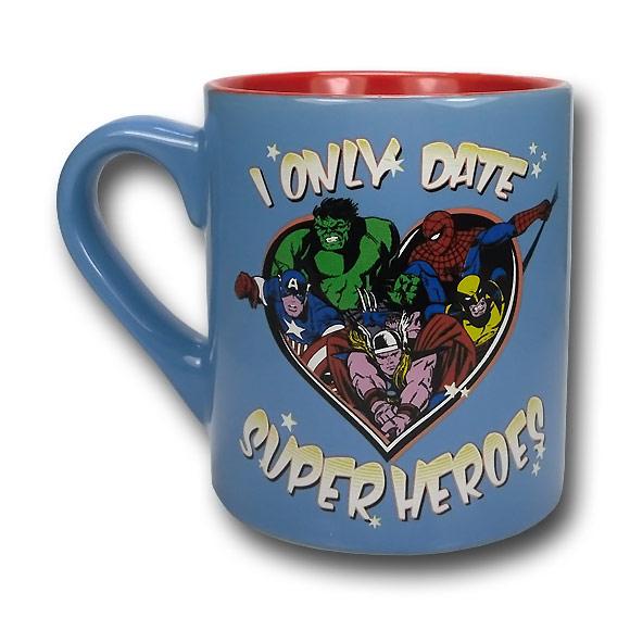 I Only Date Superheroes Mug