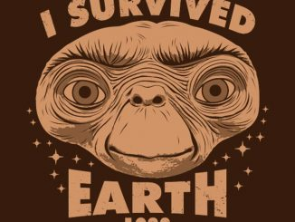 I Survived Earth E.T. T-Shirt