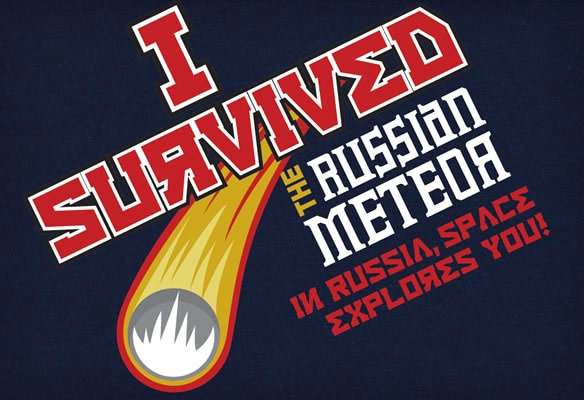 I Survived The Russian Meteor