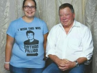 I Wish This Was Nathan Fillion T-Shirt disses Captain Kirk William Shatner