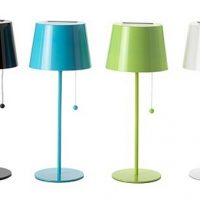 IKEA Solvinden Solar-Powered Table Lamp