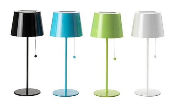ikea solvinden solar powered table lamp. Black Bedroom Furniture Sets. Home Design Ideas