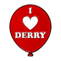 IT Chapter 2 I Heart Derry Pin