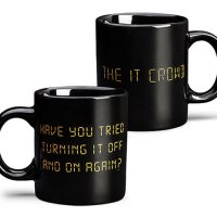 "IT Crowd ""Have you tried turning it off and on?"" Mug"