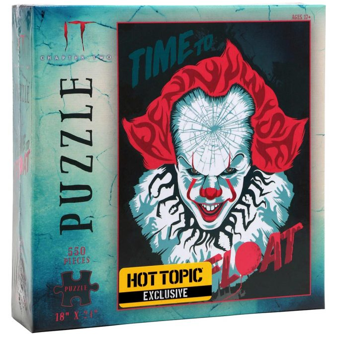 IT Pennywise Time To Float Jigsaw Puzzle