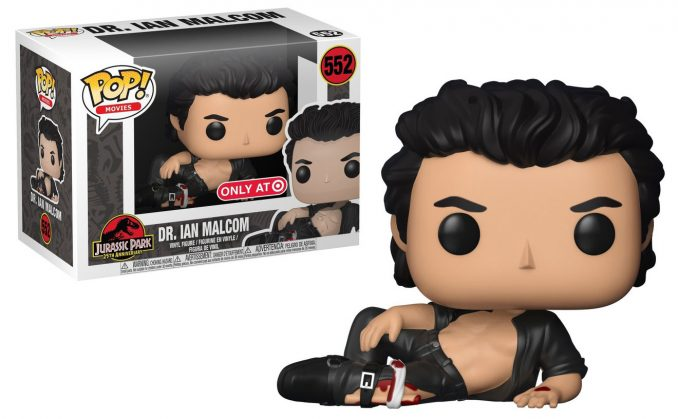 Ian Malcolm Wounded Pop Vinyl Figure