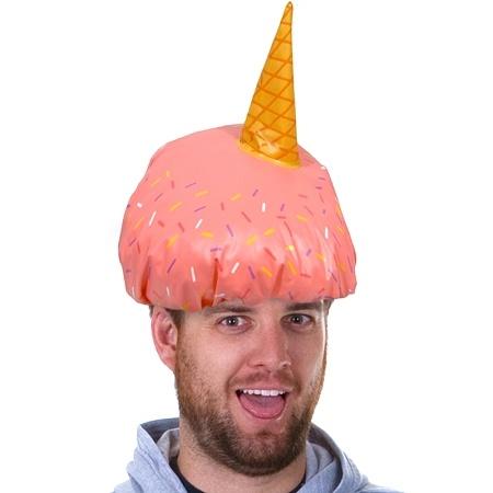 Ice Cream Shower Cap