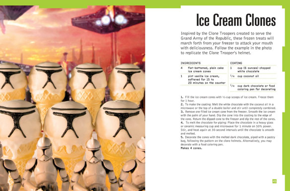 Ice Sabers 30 Chilled Treats Using the Force of Your Freezer Cookbook