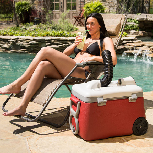 IcyBreeze Portable Air Conditioner Cooler